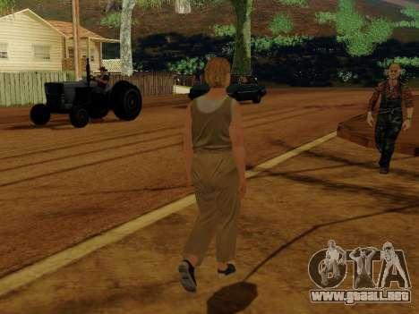 Mujer de edad avanzada para GTA San Andreas sucesivamente de pantalla