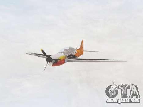 Embraer T-27 Tucano 30 Anos para GTA San Andreas