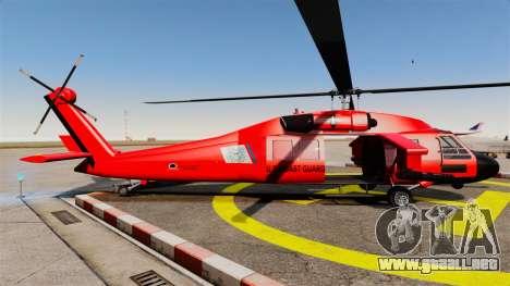 Annihilator U.S. Coast Guard MH-65C Dolphin para GTA 4 left