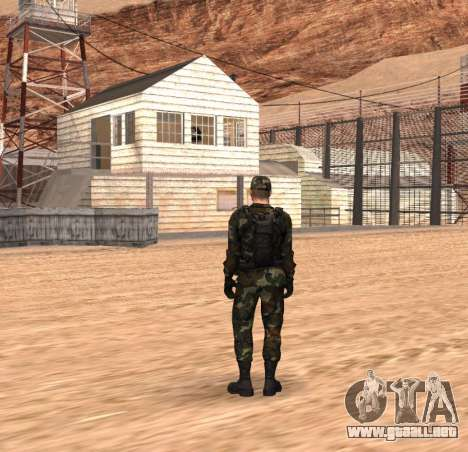Army HD para GTA San Andreas segunda pantalla