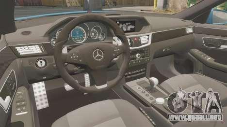 Mercedes-Benz B63 S Brabus para GTA 4 vista interior