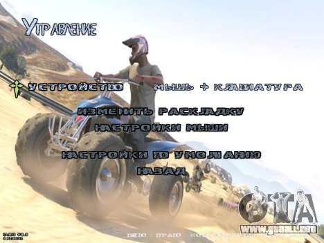 New Menu GTA 5 para GTA San Andreas quinta pantalla