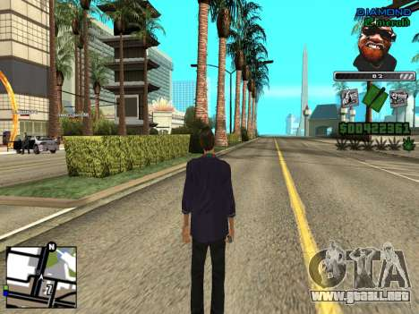 C-HUD by Misterio para GTA San Andreas segunda pantalla