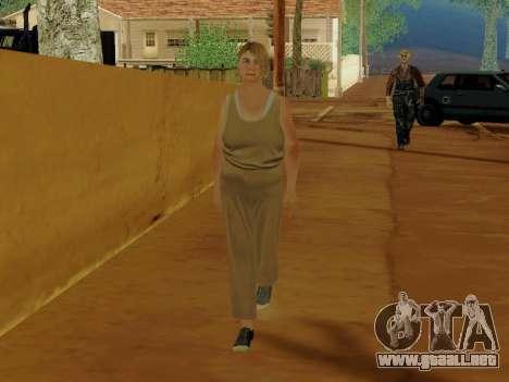 Mujer de edad avanzada para GTA San Andreas tercera pantalla