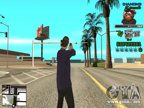 C-HUD by Misterio para GTA San Andreas tercera pantalla
