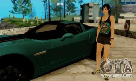 Kokoro A7X para GTA San Andreas segunda pantalla