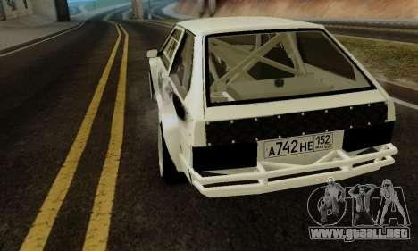 VAZ 2108 RDA para la visión correcta GTA San Andreas