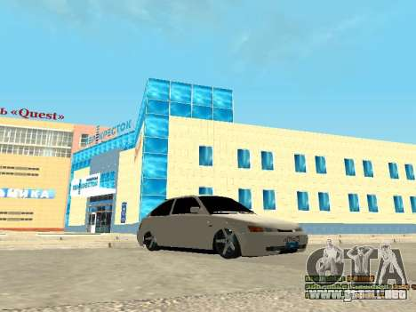 VAZ 21123 para GTA San Andreas left