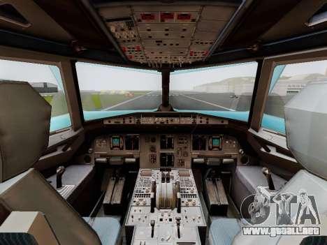 Airbus A320 Air China para la visión correcta GTA San Andreas