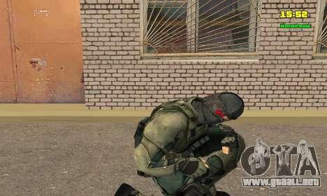 Кестрел Splinter Cell Conviction para GTA San Andreas tercera pantalla