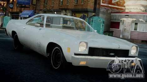 Chevrolet El Camino 1973 Old para GTA 4