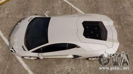 Lamborghini Aventador LP700-4 2012 [EPM] v1.1 para GTA 4 visión correcta