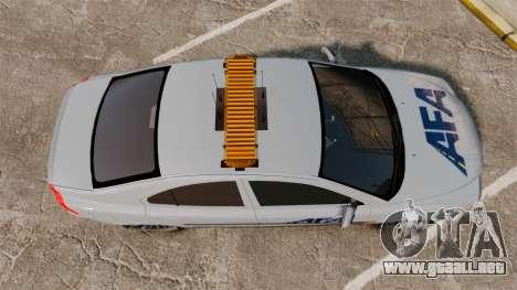 Volvo S60 AFA [ELS] para GTA 4 visión correcta
