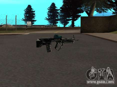 Un Nuevo Pack De Armas para GTA San Andreas sucesivamente de pantalla