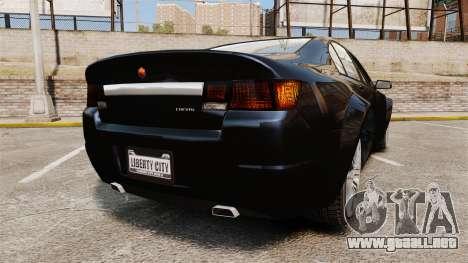 GTA V Cheval Fugitive para GTA 4 Vista posterior izquierda