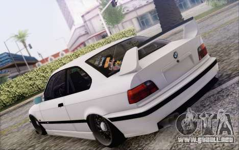 BMW M3 E36 Hellaflush para GTA San Andreas left