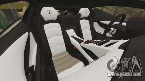 Lamborghini Aventador LP700-4 2012 [EPM] NFS para GTA 4 vista lateral