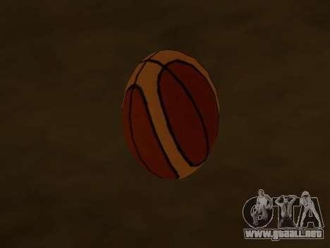 De nuevo el baloncesto de la compañía de Fundido para GTA San Andreas segunda pantalla