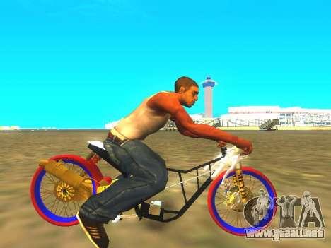 Drag Mio Full GOLD para la visión correcta GTA San Andreas