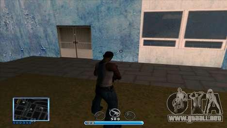 C-HUD by Andr1k para GTA San Andreas segunda pantalla