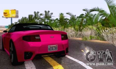 GTA V Rapid GT Cabrio para visión interna GTA San Andreas