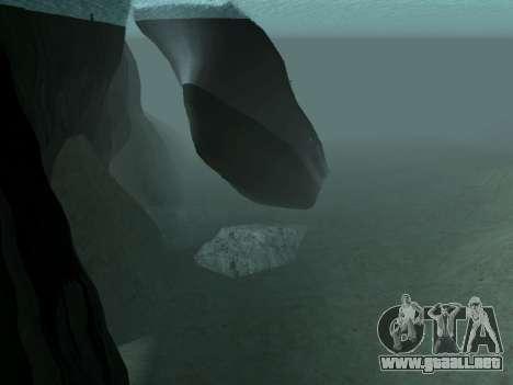 Los restos del naufragio v2.0 Final para GTA San Andreas sucesivamente de pantalla