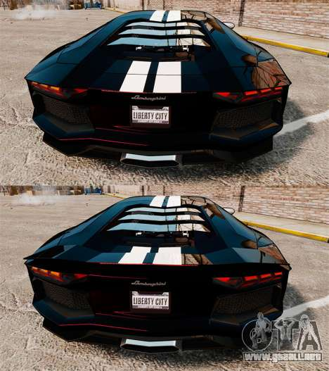 Lamborghini Aventador LP700-4 2012 [EPM] NFS para GTA 4 vista superior