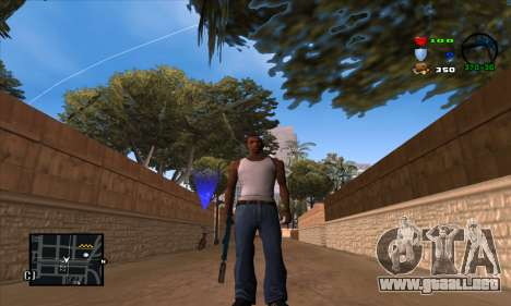 C-HUD Lite para GTA San Andreas