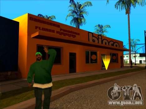 La nueva textura de la tienda Binco en LS para GTA San Andreas