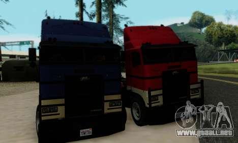 Hauler GTA V para visión interna GTA San Andreas