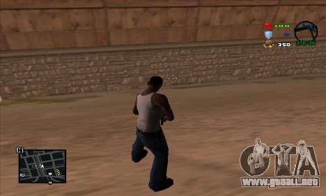 C-HUD Lite para GTA San Andreas segunda pantalla