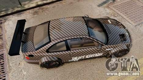 BMW M3 GTR 2012 Drift Edition para GTA 4 visión correcta