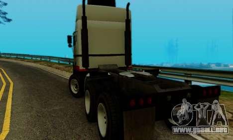 Hauler GTA V para GTA San Andreas left