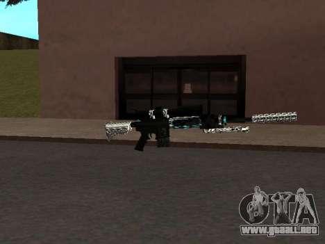 Un Nuevo Pack De Armas para GTA San Andreas tercera pantalla