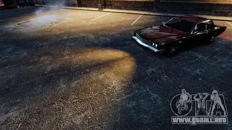Luz naranja para GTA 4