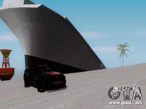 Naufragio para GTA San Andreas sucesivamente de pantalla