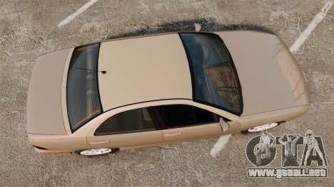 Dinka Chavos new wheels para GTA 4 visión correcta
