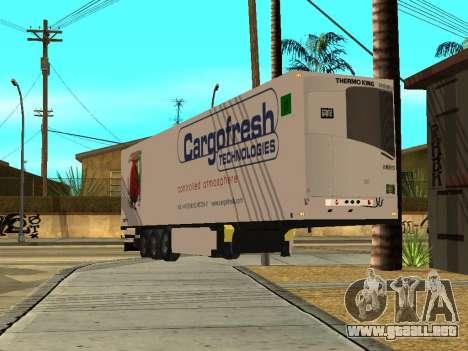 Schmitz para GTA San Andreas vista posterior izquierda