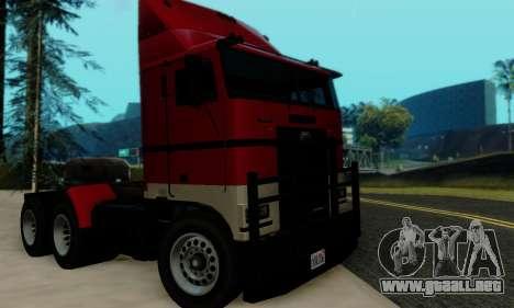 Hauler GTA V para la visión correcta GTA San Andreas