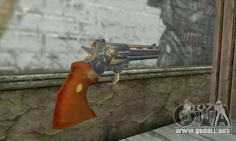 The Walking Dead Revolver para GTA San Andreas segunda pantalla
