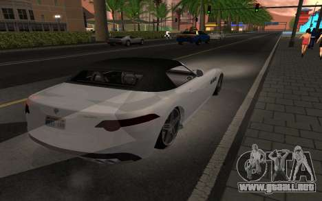 Benefactor Surano GTA V para GTA San Andreas left