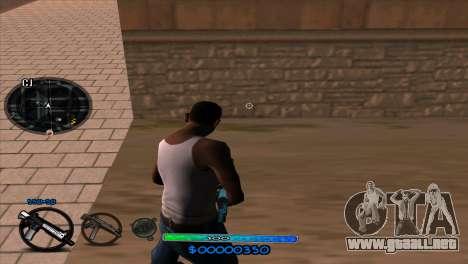 C-HUD Slow para GTA San Andreas segunda pantalla