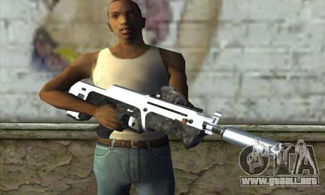 F6 Assault Rifle para GTA San Andreas tercera pantalla