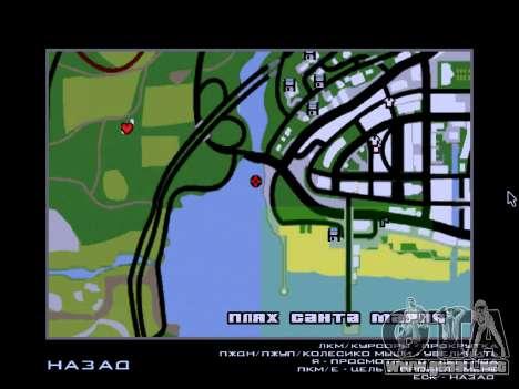 Los restos del naufragio v2.0 Final para GTA San Andreas quinta pantalla