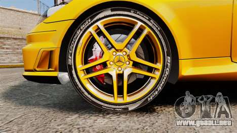 Mercedes-Benz SLK 55 AMG 2014 v1.4 para GTA 4 vista hacia atrás
