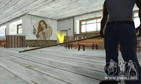Pool cue para GTA San Andreas tercera pantalla