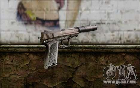 G17 pistol para GTA San Andreas segunda pantalla