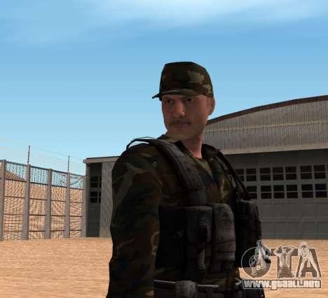 Army HD para GTA San Andreas tercera pantalla