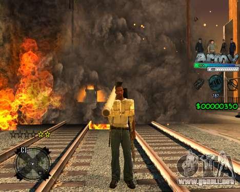 C-HUD For Army para GTA San Andreas