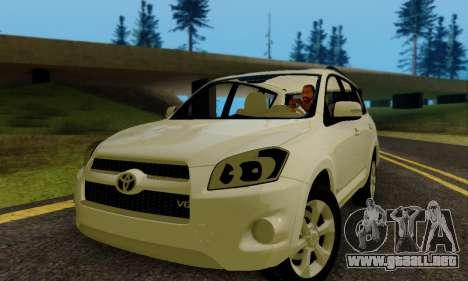 Toyota RAV4 para GTA San Andreas left